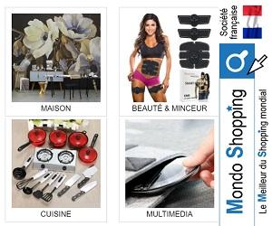 MondoShopping.com propose des produits de la meilleure qualité à des prix réduits