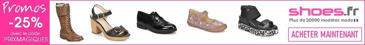 Shoes.fr est le temple de la chaussure
