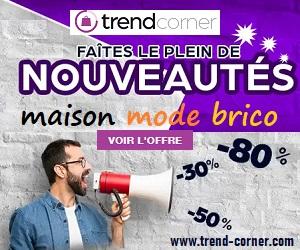 Trend-corner.com: acheter des produits avec des remises est intelligent